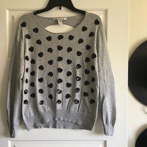 Heart Print Sweater